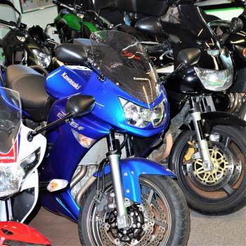 Tweedehands motorfietsen bij Interbike Lokeren