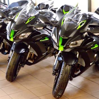 Nieuwe motorfietsen bij Interbike