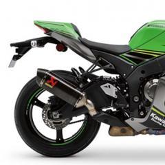 Akrapovic voor Kawasaki, monteren en afstellen van de motor