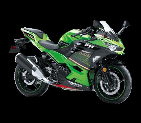 Ninja 400 Green KRT Edition