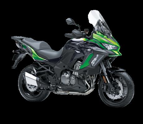 Kawasaki Versys 1000 SE zwart-groen