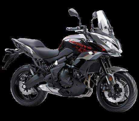 Kawasaki Versys 650 GRIJS-ZWART