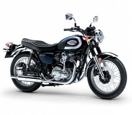 Kawasaki W800 BLAUW