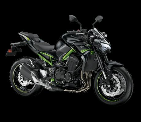 Z900 black-green